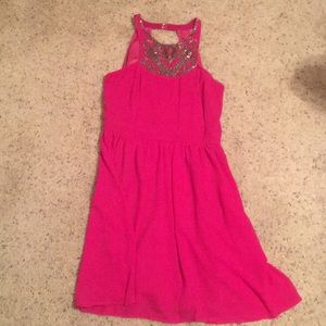 Dresses & Skirts - Fuchsia Dress